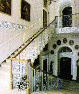 Classical staircase